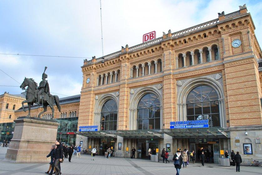 Foto Einkaufsbahnhöfe Hannover Niedersachsen Gb R