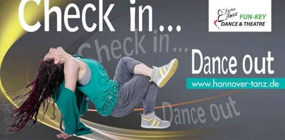 Fun Key Check In Dance Out Pur Mit Logo