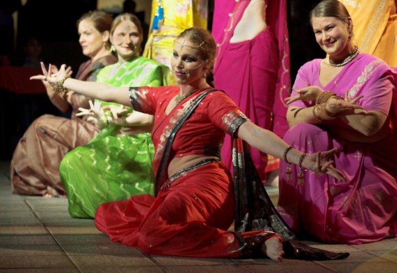 Alexandra Michels Bollywood Kulturtreff Kastanienhof